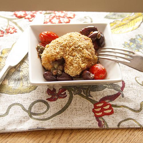 Mediterranean Baked Chicken Thighs Recipe |